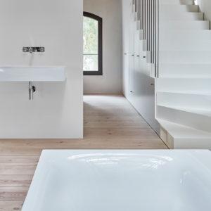 Minimalistiska badrum