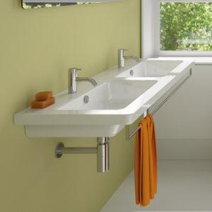 Tvättställ för väggmontage