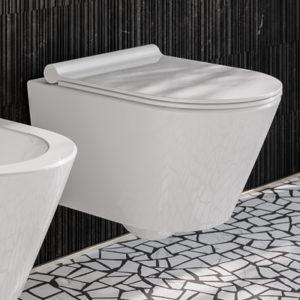 Vägghängda WC